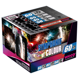 Symphonie of Colour, 60 Schuss