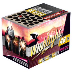 Wishlight, 48 Schuss Batterie