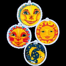Lampion Mond,Sonne