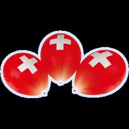 CH-Ballone LED 4 Stück