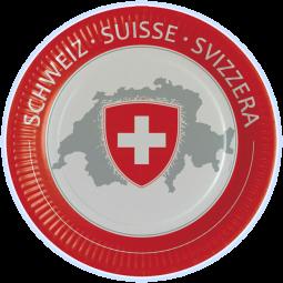 CH-Teller mit Wappen
