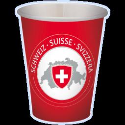 CH-Becher mit Wappen
