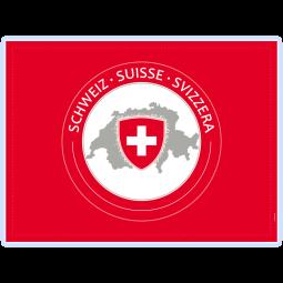CH-Tischset mit Wappen